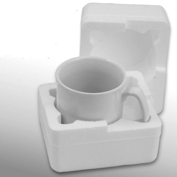 2-mug Bundled Case of Mugs (Qty 36, 18x2) - FBA and other pre-paid shipping labels