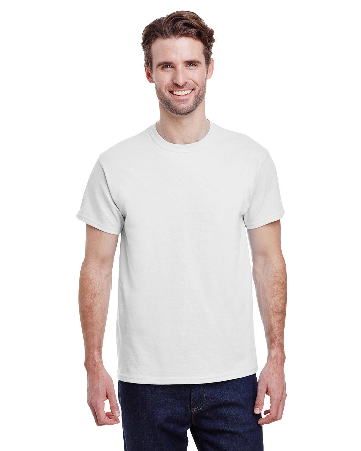 Gildan G500 T-Shirt White Customized Tee Adult and Youth Sizes