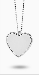 Heart Shaped Pendant. Gift Box included!