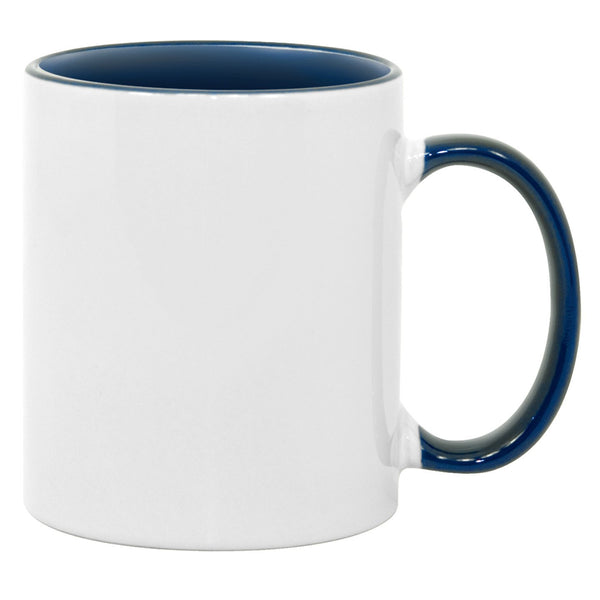 11 oz Inner Handle Mug (Multiple Colors)