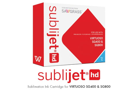 SubliJet-HD SG 400/800 Cartridge : Cyan