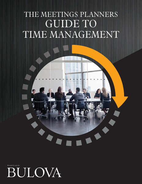 The Meetings Planners Guide To Time Management
