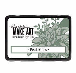 New! Ranger Wendy Vecchi Make Art Blendable Dye Ink Pad - Peat Moss