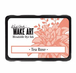 New! Ranger Wendy Vecchi Make Art Blendable Dye Ink Pad - Tea Rose