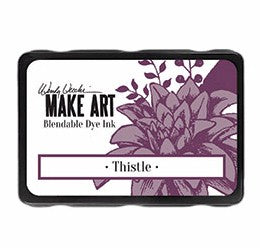 New! Ranger Wendy Vecchi Make Art Blendable Dye Ink Pad - Thistle