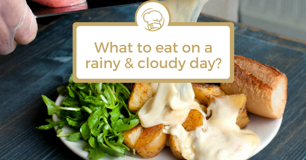 What to eat on a cloudy & rainy day