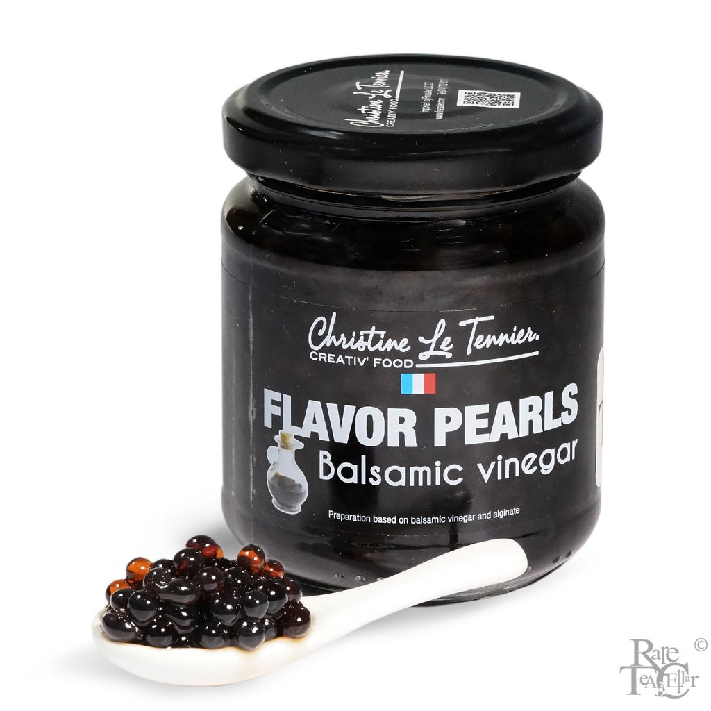 CHRISTINE LE TENNIER FLAVOR PEARLS -  BALSAMIC VINEGAR 200G