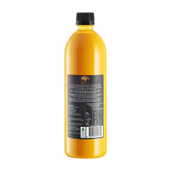 Alchemy - Golden Tumeric Elixir  Orginal Concentrate 750ml