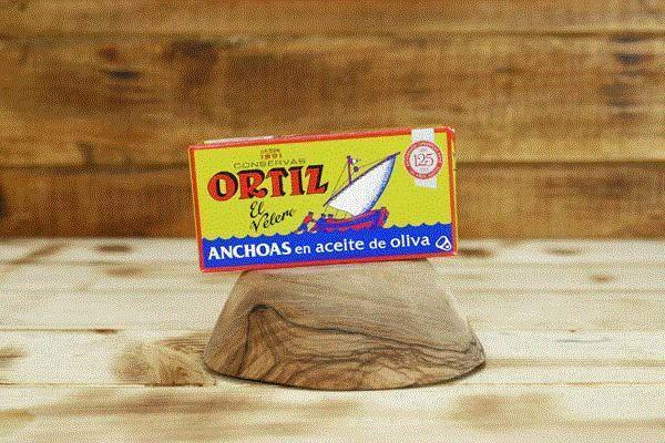 Oritz Anchovies Fillets 47.5g
