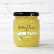 CHRISTINE LE TENNIER FLAVOR PEARLS - YUZU 200 grams