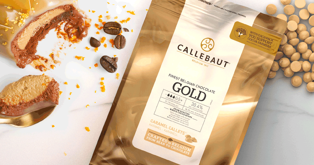 CALLEBAUT GOLD CHOCOLATE 2.5 KGS - 35%