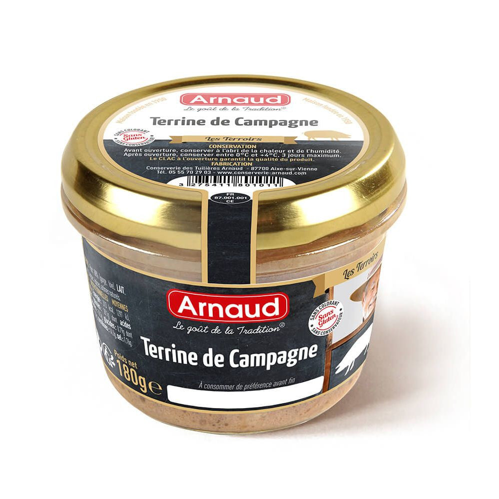 Country Terrine Arnaud 180g - Terrine de Campagne