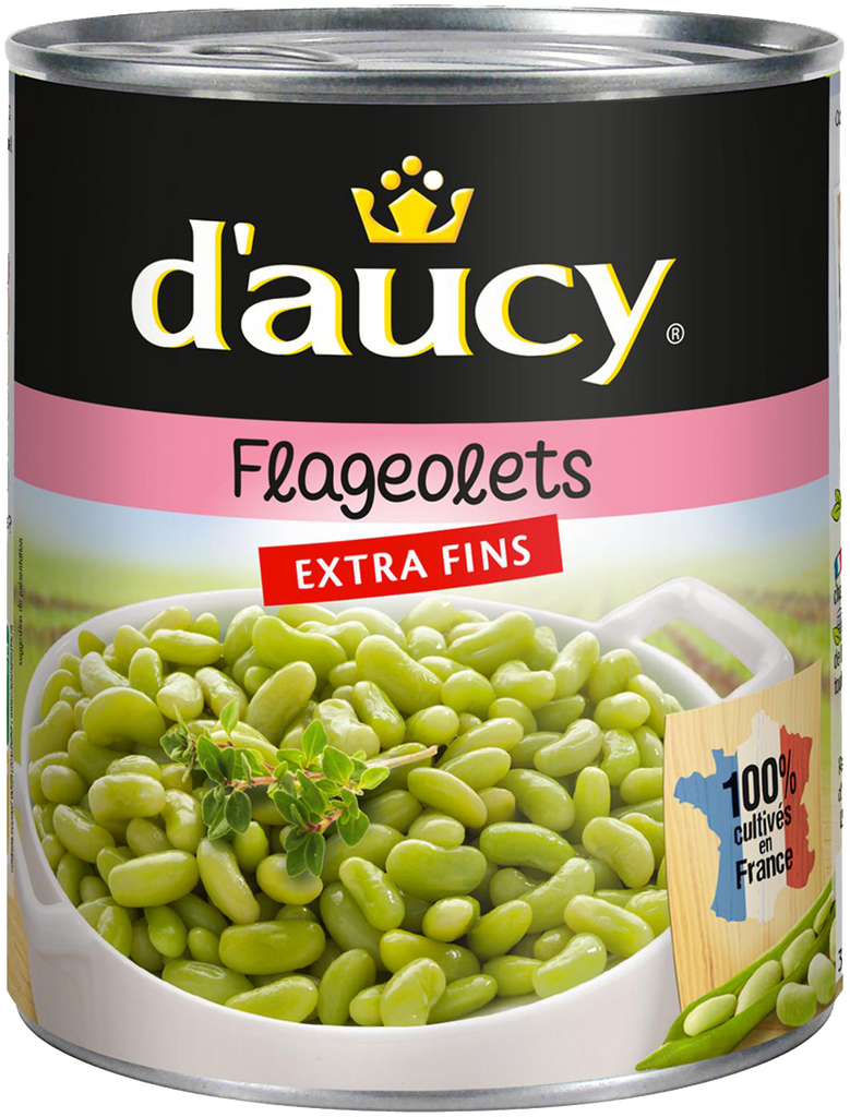 Extra Fine Flageolet Beans Daucy 400g- 260gm Drained weight