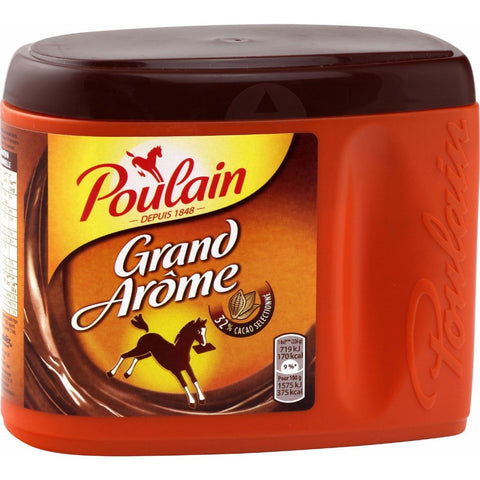 Poulain 1848 Hot Chocolate French Cocoa Powder 450g - Chocolat en Poudre