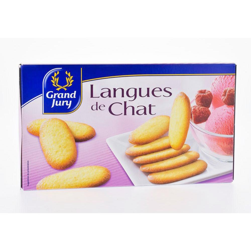 Langues de Chat French Biscuits 200g