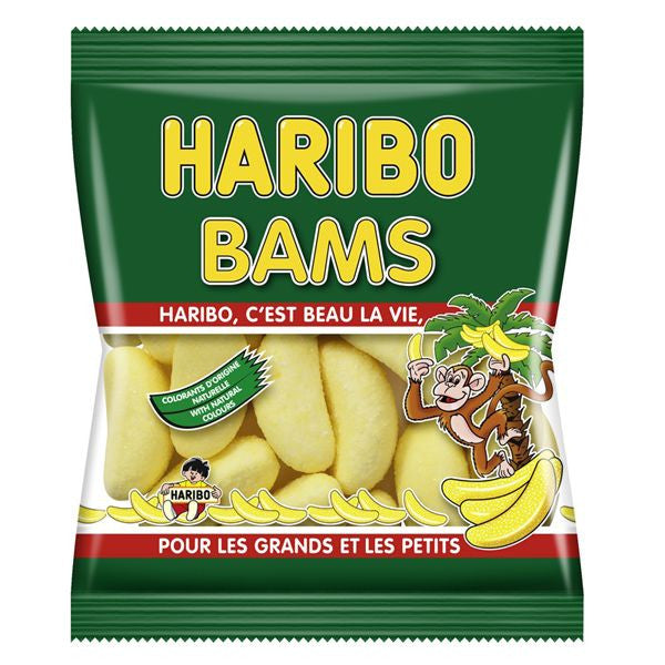 Bams Bananas 120g - Haribo **best defore 4/20