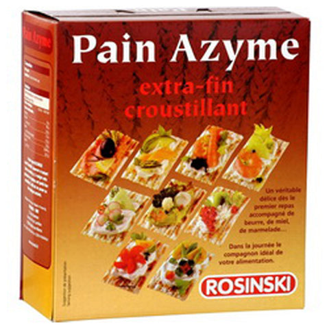 Unleavened Bread Extra-thin & Crispy 400g - Pain Azyme
