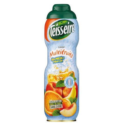 Multifruits Syrup 750ml - Teisseire