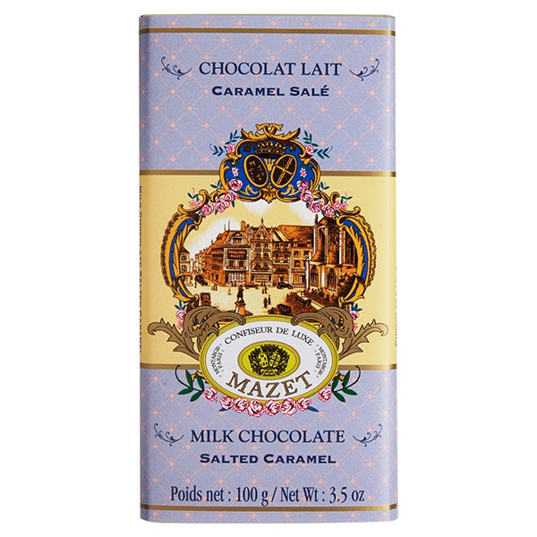 Milk Chocolate Salted Caramel Bar 100g