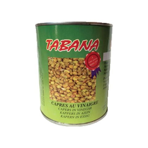Small Capers in Brine 830g Tabana