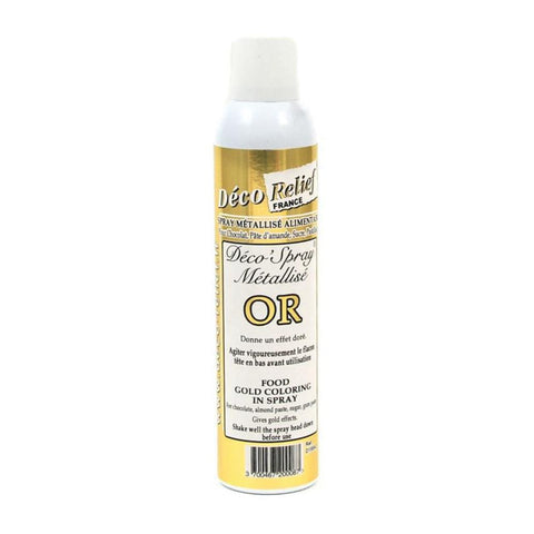 Gold Metallic Spray 405ml - Decorelief