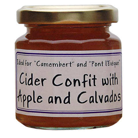 Cider Confit with Apple & Calvados - cheese jam - Epicurien - 125g