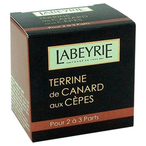 Labeyrie Duck Terrine with Ceps 65g - Terrine de Canard aux Cepes