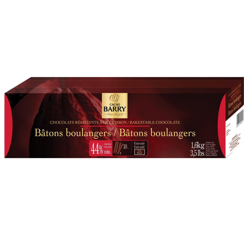 Chocolate Batons 43% 1.6kg (300 units) - Barry