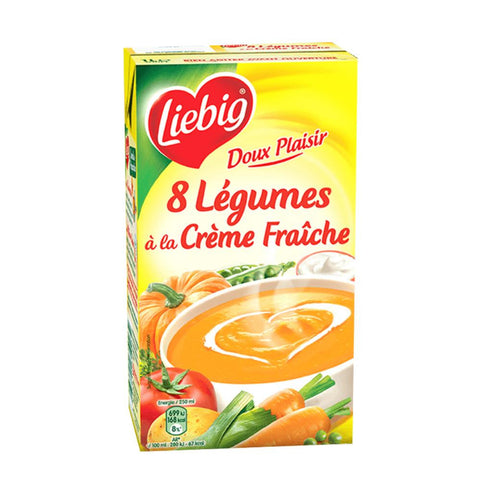 Liebig 8 Vegetables & Cream Soup 1L