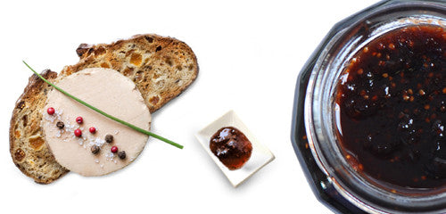 Foie gras & fig jam