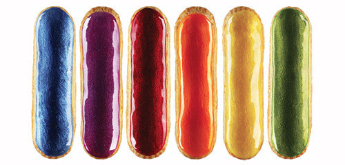 Coloured Eclairs