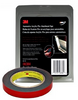3M™ Automotive Acrylic Plus Attachment Tape 06384, Black, 1.12 mm, 1/2 inx5 yd