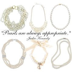 Pretty Girls Wear Pearls....