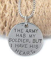 A Soldier's Heart Necklace