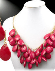 Bib Necklace (Various Colors)