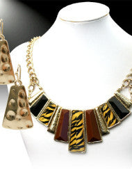 Call of the Wild Necklace Set-Tiger Stripe