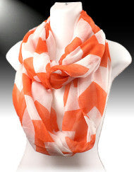 Chevron Infinity Scarf (Various Colors)