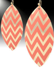 Chevron Fashion Earrings