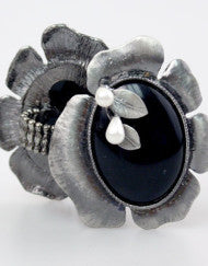 Black Oynx Fashion Ring