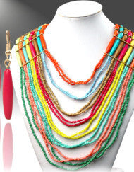 Colorful Palate Necklace Set