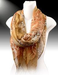 Exotic Prints Fashion Scarf