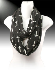 High Class Fashion with a Purpose Cross Infinity Scarf