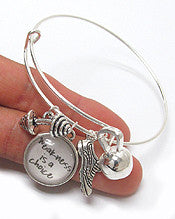Fitness Charm Bracelet - Weakness is a Choice