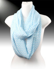 Just in Time Chevron Infinity Scarf (Various Colors)