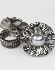 Pearl Couture Fashion Ring