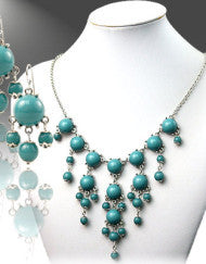 Round We Go Bubble Necklace Set (Various Colors)