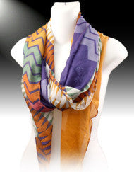 Santa Fe Pattern Fashion Scarf