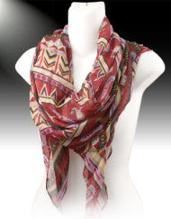 See Me From Afar Fashion Scarf (Various Colors)