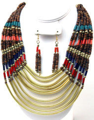 Tribal Infinity Necklace Set