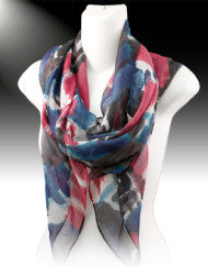 Water Color Fashion Scarf (Various Colors)